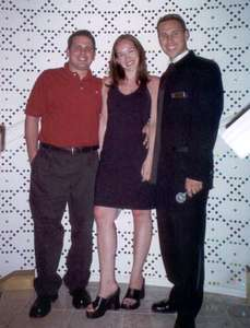 **6/3/2003** Dan, me, and Josh after the show.