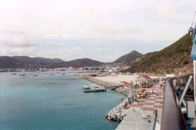 **6/4/2003** View from the Pride of St. Maarten