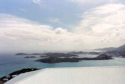**6/3/2003** View from the top of St. Thomas