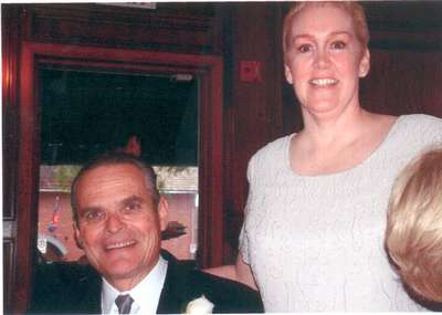 Steph's parents (photo courtesy of Cookie!)