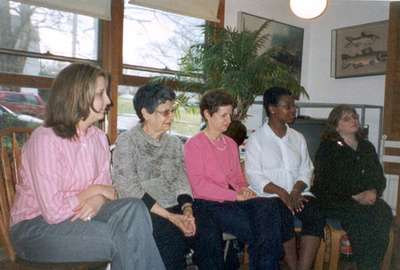 Allison, Tema, Esther, Karla, and Andrea