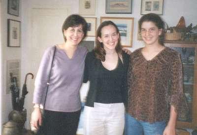Me with Liz and Caroline