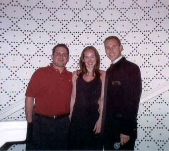 Another shot of Dan, me, and Josh