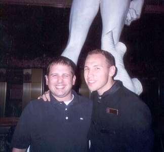Dan and Josh...how cute!