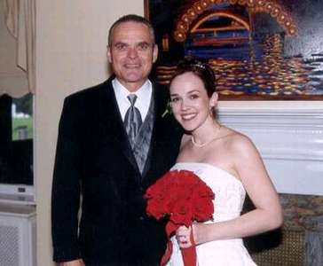 Dad and Steph...awww..