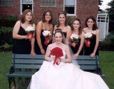 Me and the girls (l-r: Katy, Jess, Allison, Judy, and Elisa)