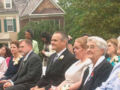 Everyone looking on... (photo courtesy of Uncle Greg)