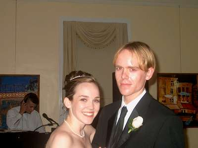 Steph and Curt (photo courtesy of Uncle Greg)