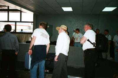 In Tegucigalpa Airport (4/6/02)