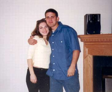 1999 Dan and Judy at the townhouse