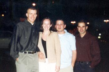 March 2001 Scott, me, Dan, and Stu in Arlington, VA