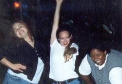 1999 Katy, me, and Nikki posing