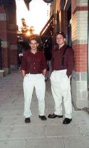 June 2001 Stu and Dan...matching!
