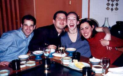 January 2001 Another picture during dinner...