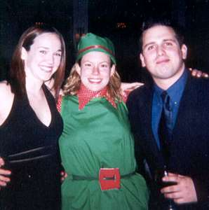 December 2002 Me, Heather, and Dan at the ACC holiday party