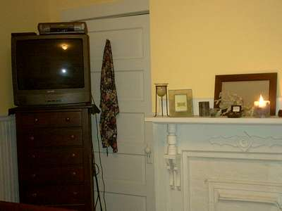 BR 1 Fireplace