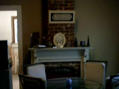 Dining Rm-Fireplace