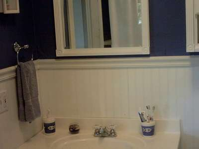 bathroom- Chrome Faucets and Knobs