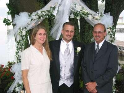 Dean w/sis Susan and bro Rich