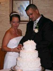 we cut the cake