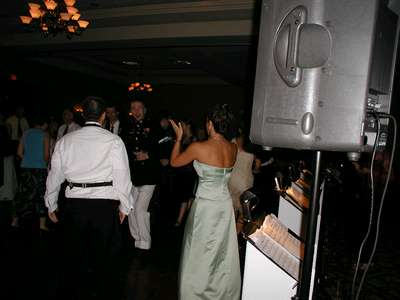 Jimmy showing us his moves at the reception.