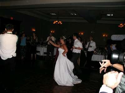 Me and Matt dancing to YMCA.