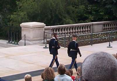 The Changing of the Guard at the Tomb of the Unknown Soldier (5 of 7)