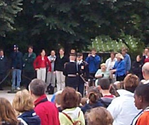 The Changing of the Guard at the Tomb of the Unknown Soldier (4 of 7)