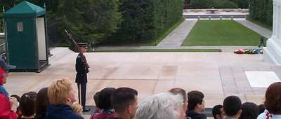 The Changing of the Guard at the Tomb of the Unknown Soldier (3 of 7)
