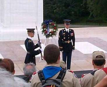 The Changing of the Guard at the Tomb of the Unknown Soldier (1 of 7)