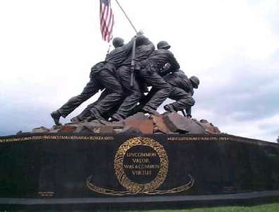 Another of the Iwo Jima Statue