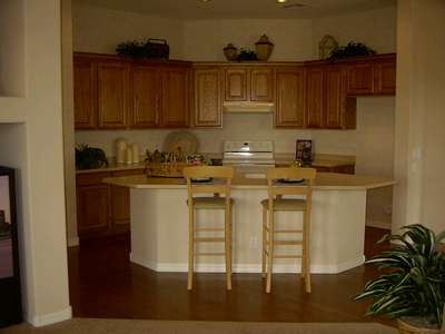 What our kitchen will look like. This picture is taken from the model our house is being designed after.