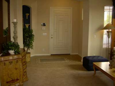 Here is a picture of the entry way. Nothing too special.