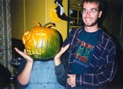 Pumpkin Carving 1997