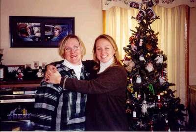 Sam and Heather Xmas 2000
