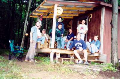 Marathon Hunting Camp -the morning after