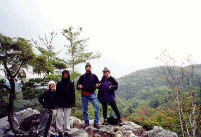 Vermont Hike 2000