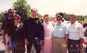 Dave's graduation from UMass - Dartmouth
