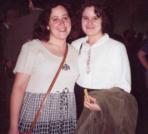 Audrey and Melissa