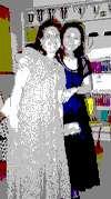 Melissa and Monica