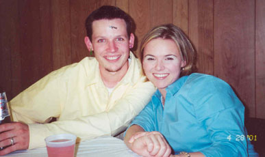 Mike and Tessa - they're getting married in July 2003