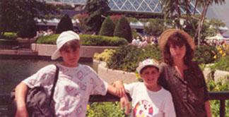 Florida when we were older - plus Chris
