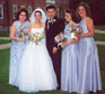 Jennie and John's wedding in Williamstown, MA - May 2000