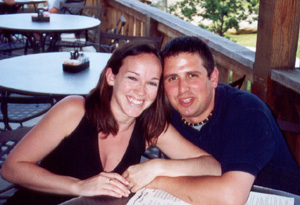 June 2002 Macaroni Grill.