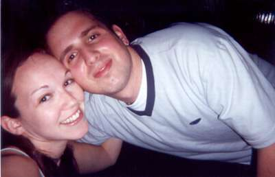 April 2000   Us at Georgetown Station.  Our party moved from MD (Sanktuary) to DC.