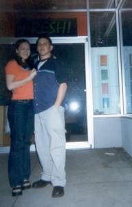 February 2000  Outside of Fresh! at Sanktuary.