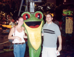 May 2001 RainForest Cafe in Las Vegas, NV