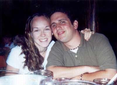 July 2000  Dinner at the Hoop-De-Doo Review in Disneyworld.