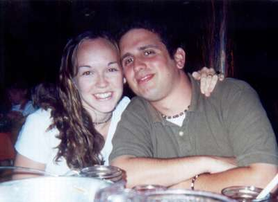 July 2000  Dinner at the Hoop-De-Doo Review in Disneyworld.