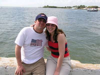 January 6, 2004 Us in Belize, C.A.